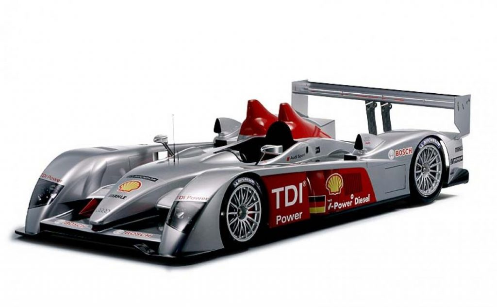 The Audi R10 TDI was the answer to a propelling question