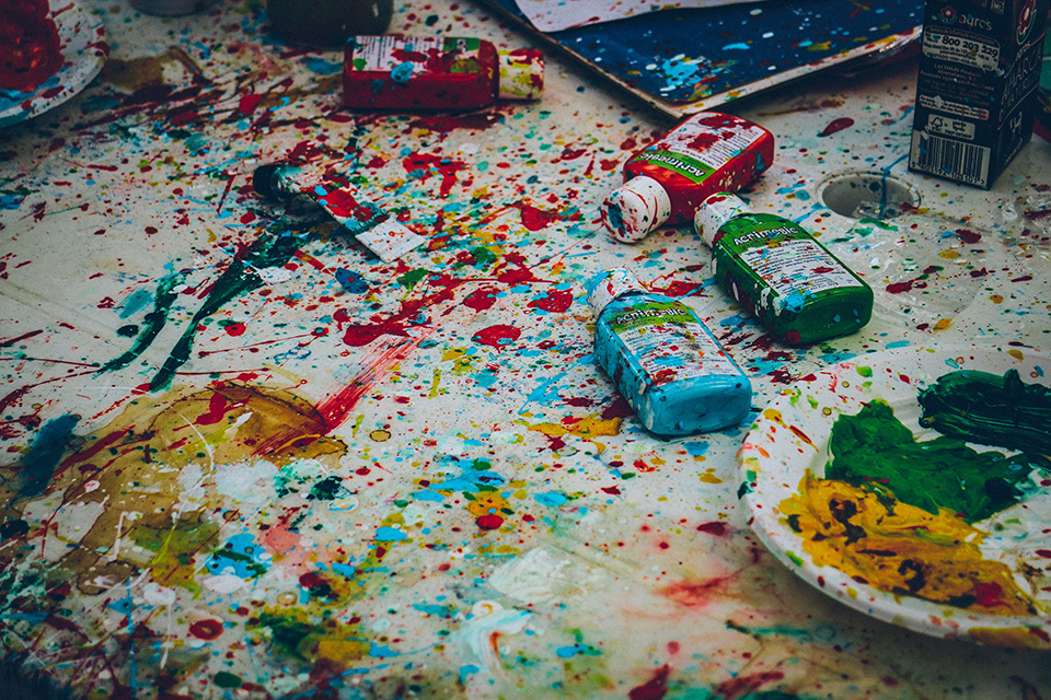 Nurturing creativity means embracing chaos.